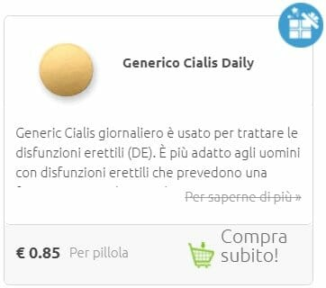 cialis quotidiano